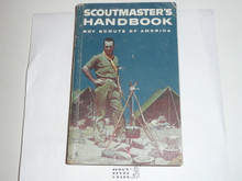 1960 Scoutmasters Handbook, Fifth Edition, Second Printing, Used Condition, Norman Rockwell Cover