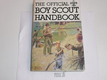 1979 Boy Scout Handbook, Ninth Edition, First Printing, Used condition
