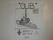 1987-1988 World Jamboree Norway Troop Handbook