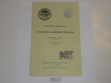 1983 World Jamboree Visitors Map