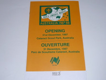1987-88  World Jamboree Opening Ceremony Program