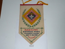 1959 World Jamboree Velvet Banner