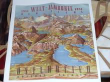 1951 Boy Scout World Jamboree Program
