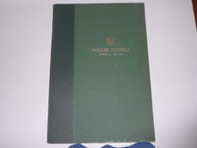 1957 World Jamboree Complete Bound Set of the Jamboree Journal Newspaper