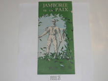1947 World Jamboree Map With Sightseeing Information