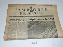 1947 World Jamboree Newspaper, August 16