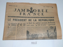 1947 World Jamboree Newspaper, August 15