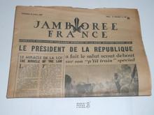 1947 World Jamboree Newspaper, August 15