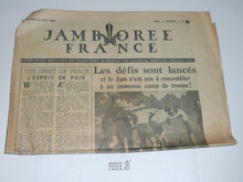 1947 World Jamboree Newspaper, August 13