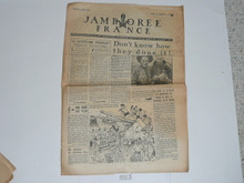 1947 World Jamboree Newspaper, August 12