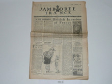 1947 World Jamboree Newspaper, August 7