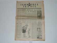1947 World Jamboree Newspaper, August 7