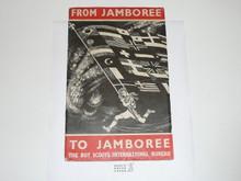 1947 World Jamboree From Jamboree to Jamboree, The Story of the World Jamborees of the Boy Scouts, Cover Separated from Book