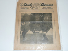 1929 World Jamboree, Issue #8 of the Daily Newspaper, August 7th
