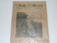 1929 World Jamboree, Issue #7 of the Daily Newspaper, August 6th