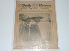 1929 World Jamboree, Issue #5 of the Daily Newspaper, August 3rd