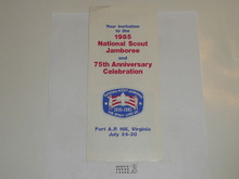 1985 National Jamboree Promotional Brochure