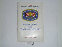 1985 National Jamboree Scout Guide and Program Passport