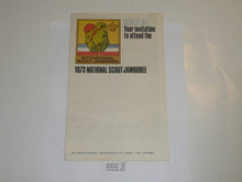 1973 National Jamboree Promotional Brochure