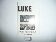 1973 National Jamboree Prayer Book