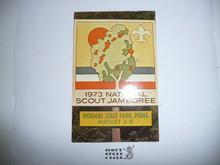 1973 National Jamboree Postcard