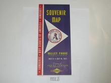 1957 National Jamboree Souvenier Map