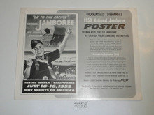 1953 National Jamboree Promotional Flier to Buy Jamboree Promotional Poster