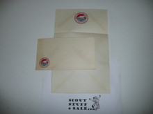 1953 National Jamboree Stationary and Envelope