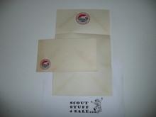 1953 National Jamboree Stationary and Envelope