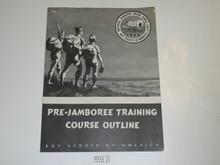 1953 National Jamboree Pre-Jamboree Training Course Outline
