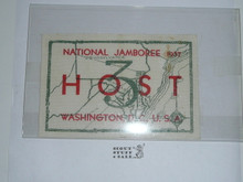 1937 National Jamboree Region 3 Host Patch