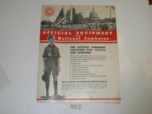 1935 National Jamboree Official Uniform and Equipment Catalog