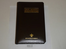 1998 Boy Scout Handbook, Eleventh Edition, First Printing, RARE Leather binding numbered edition #595/2000, MINT condition