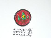 Treasure Island Camp 1980's Pin