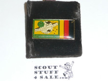 1987/1988 World Jamboree With Foreign Flag Pin