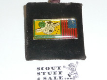 1987/1988 World Jamboree USA Flag Pin