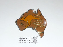 1987/1988 World Jamboree Neckerchief Slide