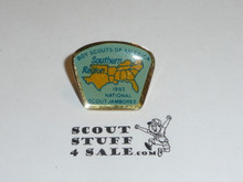 1993 National Jamboree Southern Region Pin