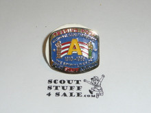 1985 National Jamboree Trading Post A Staff Pin