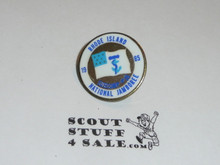 1985 National Jamboree Subcamp 18 Pin