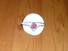 Old OA National Logo Neckerchief Pin - Scout