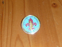 1988 Stockton California Stake Little Philmont LDS Pin - Scout