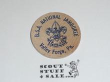 1957 National Jamboree Wooden Nickel