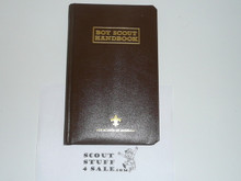 1998 Leather Bound Boy Scout Handbook, #213 of 2000, 11th Edition, Inscribed to Jim Tarr From Jere Ratcliffe