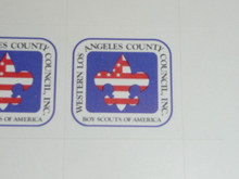 Western Los Angeles County Council Sticker
