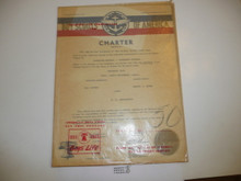 1956 San Fernando Valley Council, North Hollywood Post Charter, in paper wrapper