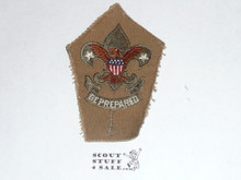 Scoutmaster Patch (SM1), 1911-1920, trimmed but not sewn