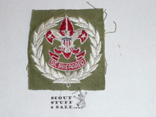 Scout Executive Patch (SE4), 1946-1953, lt use but untrimmed and in great shape