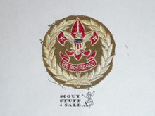 Scout Executive Patch (SE4), 1946-1953, lt use but trimmed