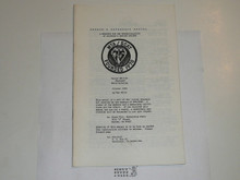 WTA and SCAT Newsletter, 1985 October, Members Reference Manual